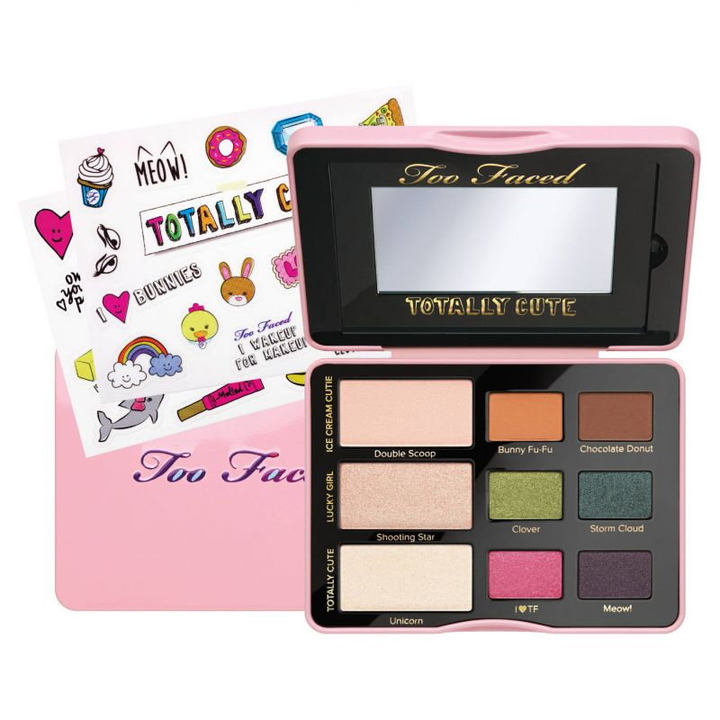 Totally Cute - Collection d'ombres à paupières et d'autocollants, Too Faced - Infos et avis