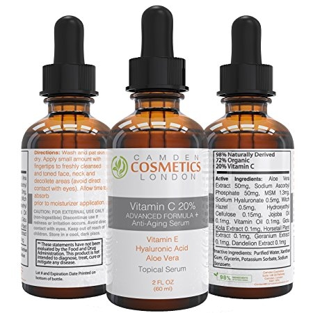 Tropical Sérum Vitamine C 20%, Camden Cosmetics London - Infos et avis