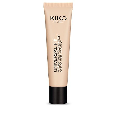 Universal Fit Hydrating Foundation 01, Kiko : Team Vanity aime !