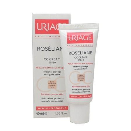 Roséliane CC Cream SPF 30, Uriage : Team Vanity aime !