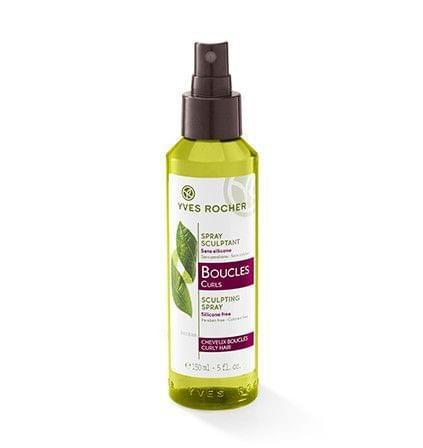 Boucles - Spray Sculptant - Soin Végétal Capillaire, YVES ROCHER - Infos et avis