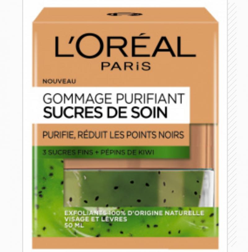 Sucres de Soin Gommage Purifiant, L'Oréal Paris - Infos et avis