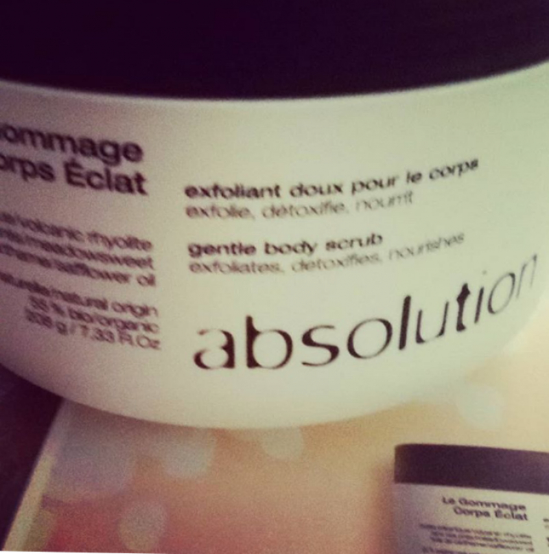 Swatch Gommage Corps Éclat, Absolution