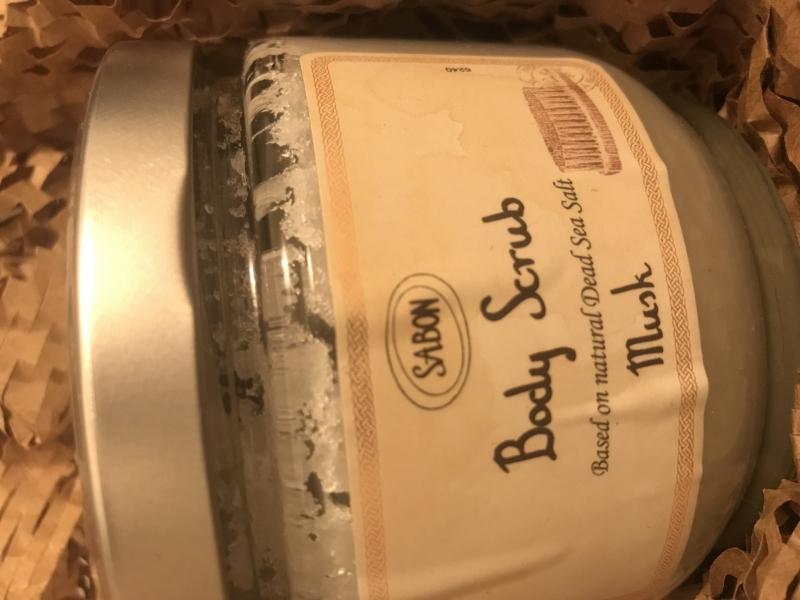 Swatch Gommage aux sels de la Mer Morte, Sabon