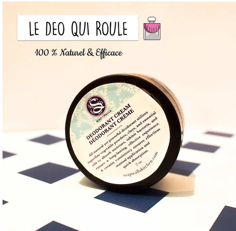 Swatch Déodorant Crème, Soapwalla
