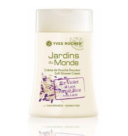 Crème de douche douceur Riz Violet du Laos - Les Jardins du Monde, YVES ROCHER - Infos et avis