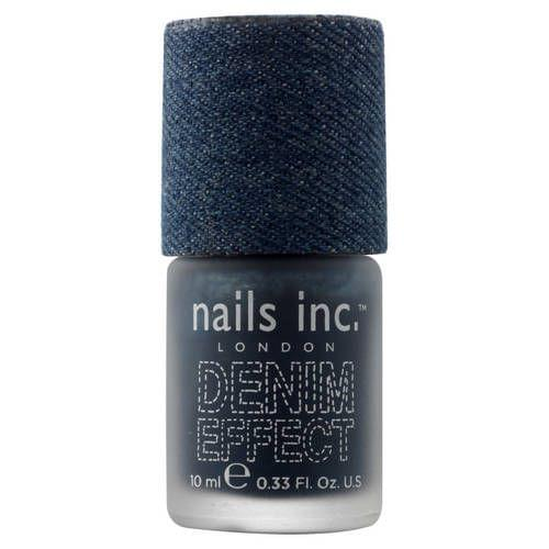 Denim Effect Polish Vernis à Effet Jean, nails inc. : nadia aime !