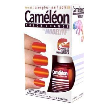 Vernis à Ongles Caméléon Color Change, Modelite : nadia aime !