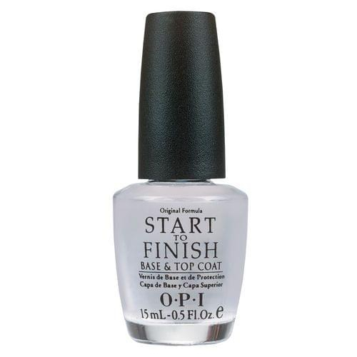 Start-To-Finish - Traitement Polyvalent 3 en 1 pour les Ongles, OPI : nadia aime !