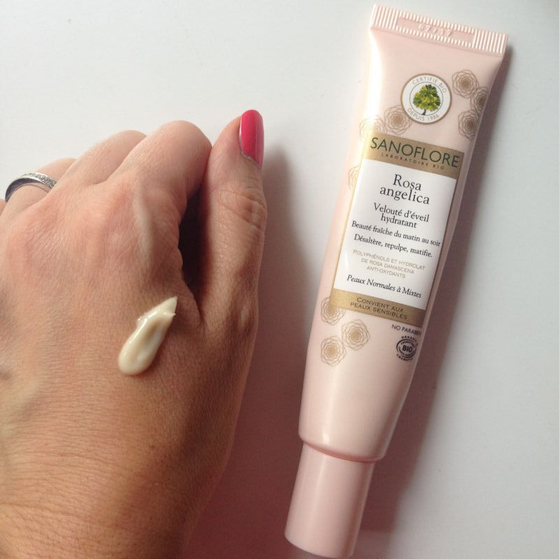 Swatch Rosa Angelica, Sanoflore