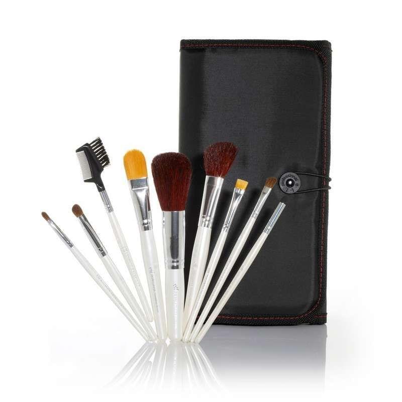 Master Set de 9 pinceaux professionnels e.l.f Essentiel, Eyeslipsface - Infos et avis
