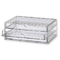 Avis Boîte 3 Tiroirs Acrylique L - Muji - Accessoires