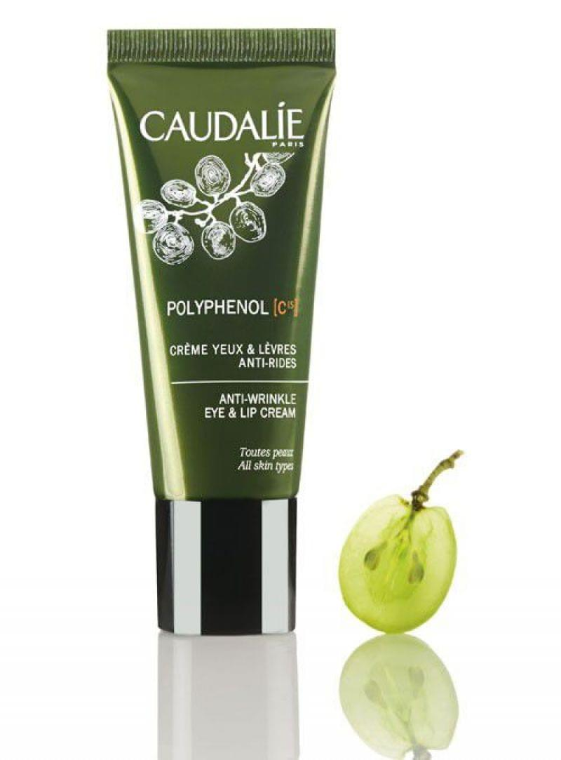 Crème Yeux et Lèvres Anti-Rides Polyphénol C15, Caudalie - Infos et avis
