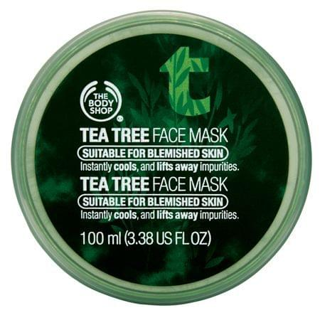 Masque Nettoyant Clarifiant à l'Argile Arbre à Thé, The Body Shop : nadia aime !