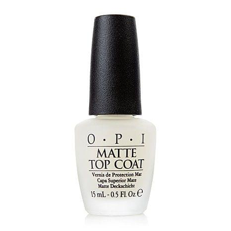 Matte Top Coat, OPI : nadia aime !