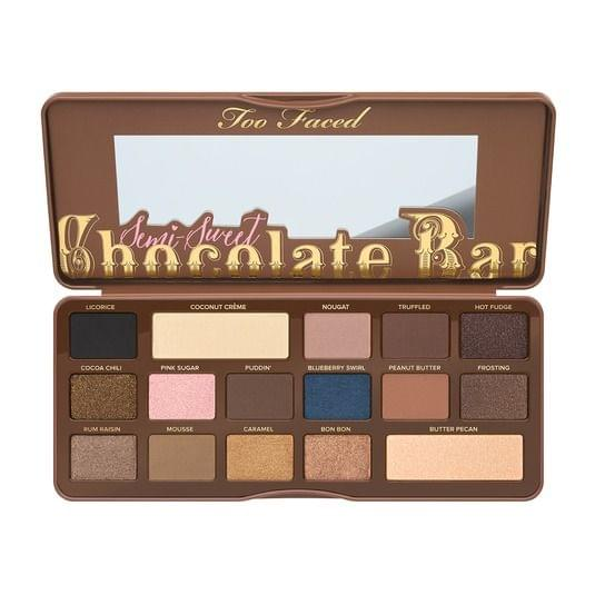 Semi-Sweet Chocolate Bar - Palette d'ombres à paupières, Too Faced : nadia aime !