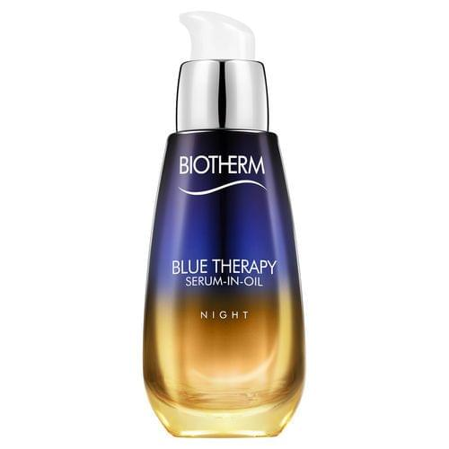 Blue Therapy Nuit - Serum-in-oil - Réparation Nocturne Visible, Biotherm : nadia aime !