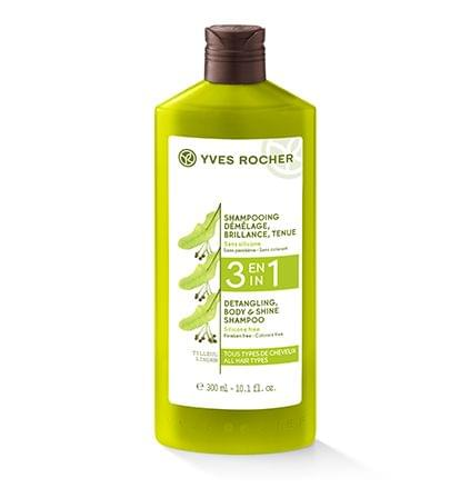 3 En 1 - Shampooing Démêlage, Brillance, Tenue - Soin Végétal Capillaire, YVES ROCHER : nadia aime !