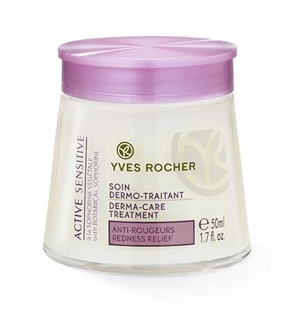 Soin dermo-traitant anti-rougeurs - Active Sensitive, YVES ROCHER : nadia aime !