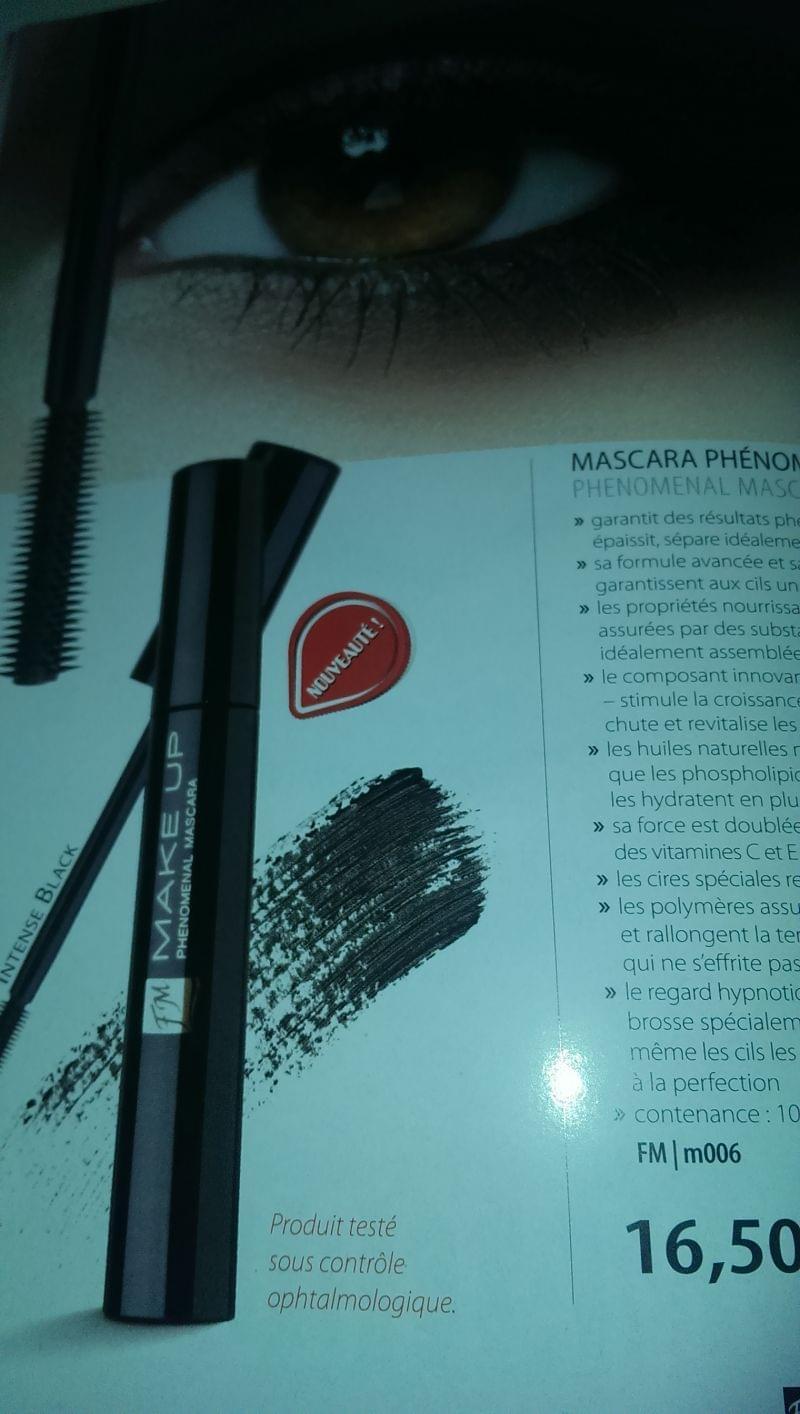 Swatch Mascara Phénoménal, FM Make Up