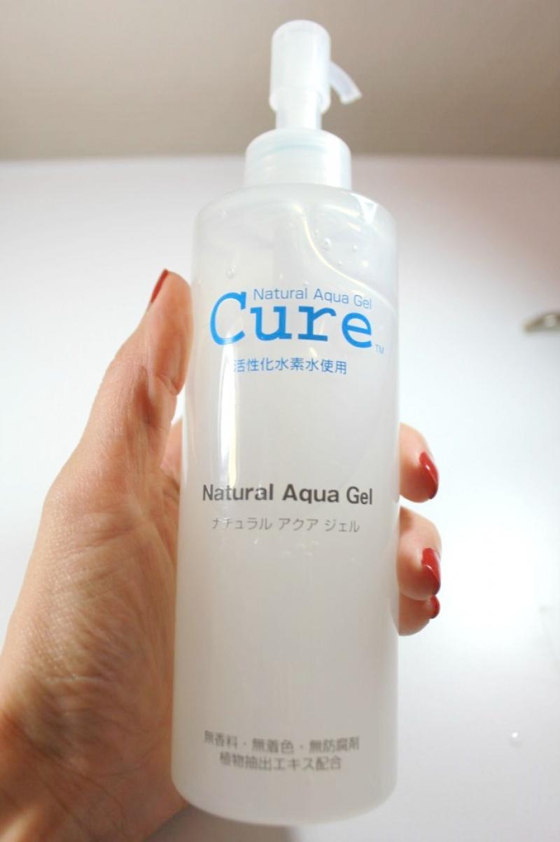 Swatch Natural Aqua Gel, CURE