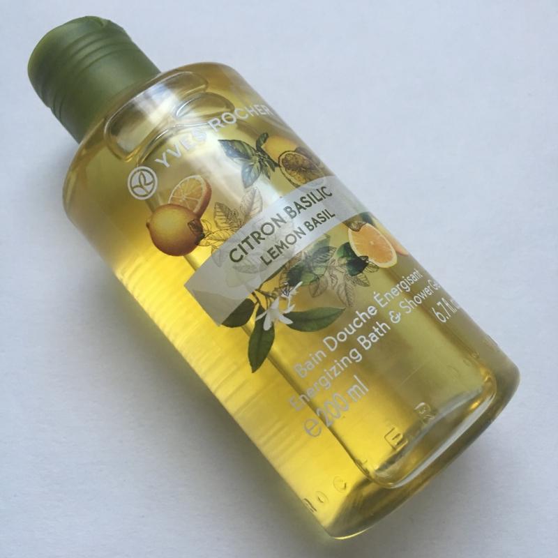 Swatch Bain douche énergisant - Citron Basilic, Yves Rocher