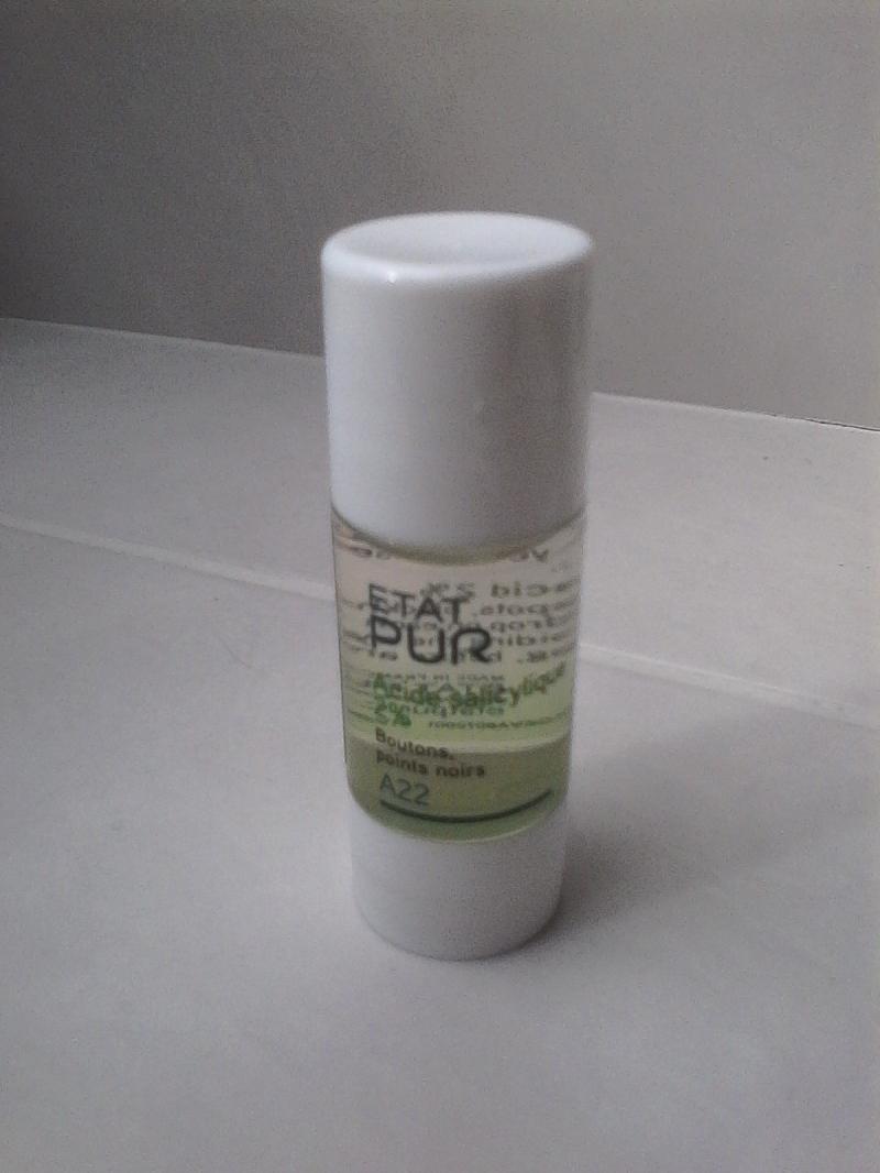 Swatch Actif Pur d'Acide Salicylique 2%, Etat Pur