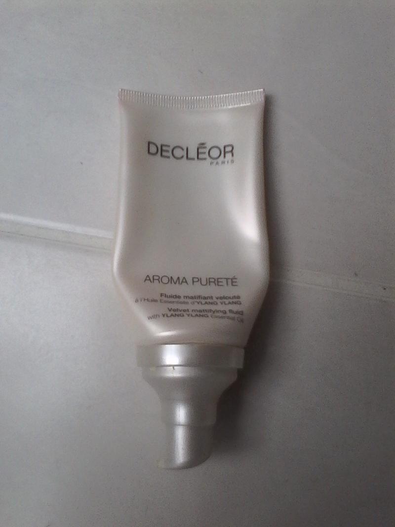 Swatch Fluide matifiant velouté aroma pureté, Decléor