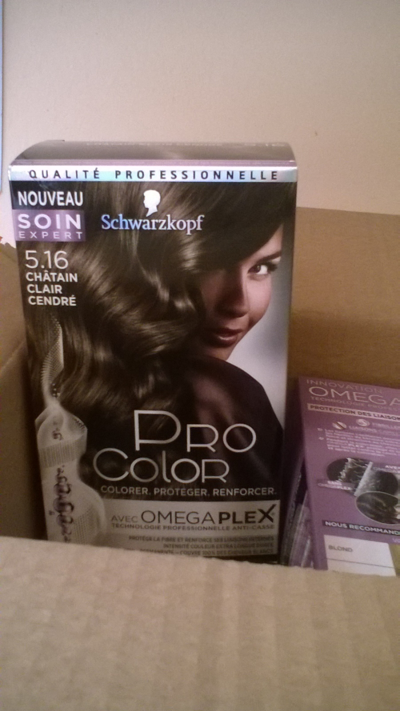 Swatch Pro Color Omegaplex, Schwarzkopf