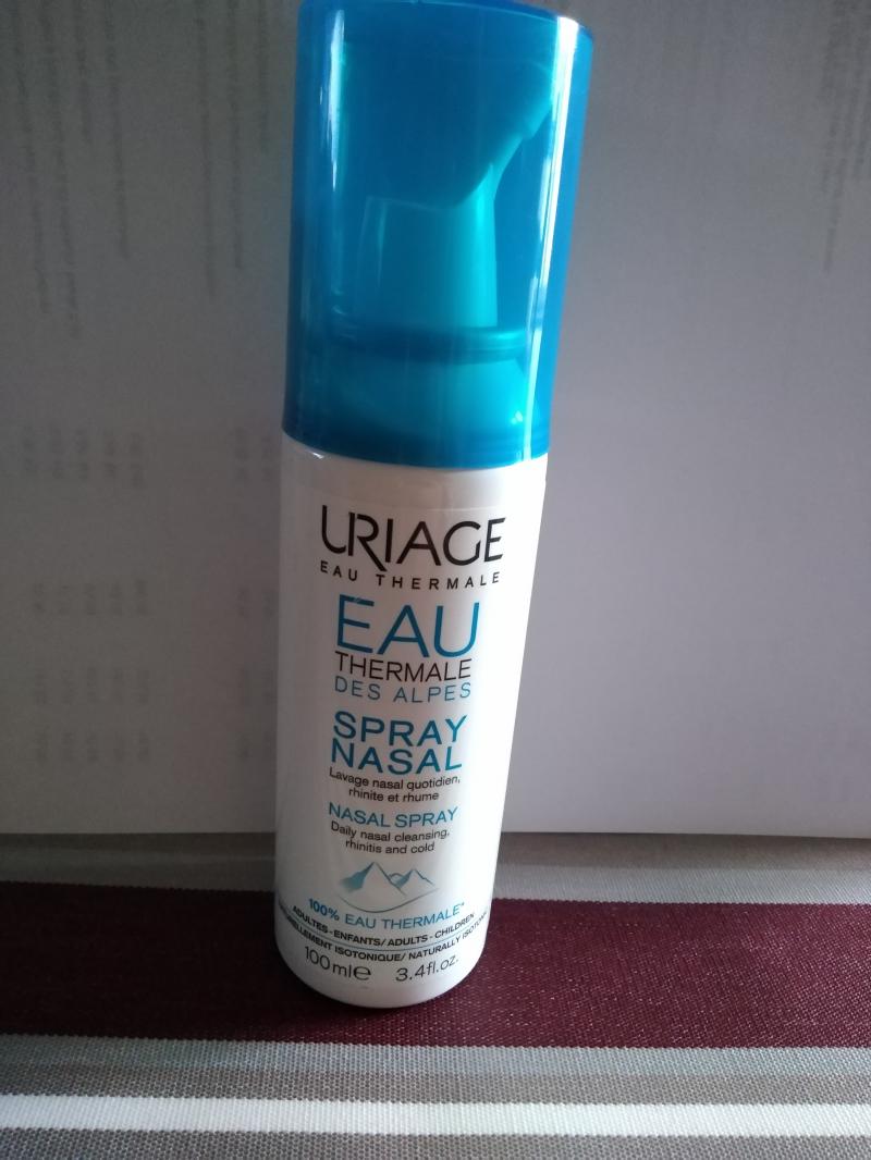Swatch Eau thermale des alpes spray nasale, Uriage