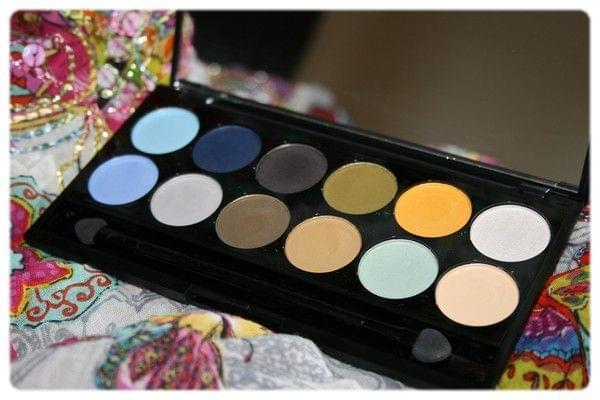 Swatch I Divine Shangri-la Collection Palette, Sleek MakeUP
