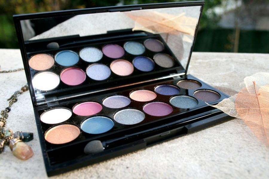 Swatch Enchanted Forest I Divine Palette, Sleek MakeUP