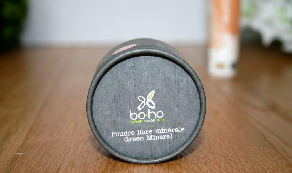 Swatch Poudre Libre Minérale - Green Mineral, Boho Green