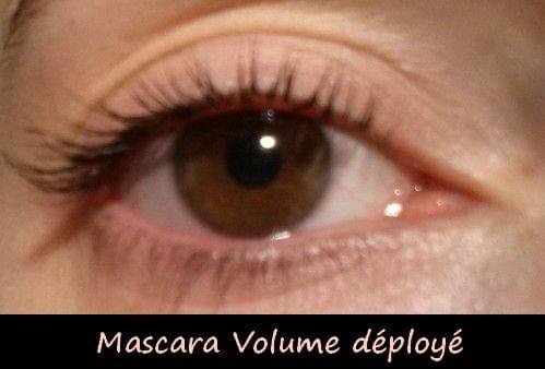 Swatch Mascara Volume Déployé, Yves Rocher