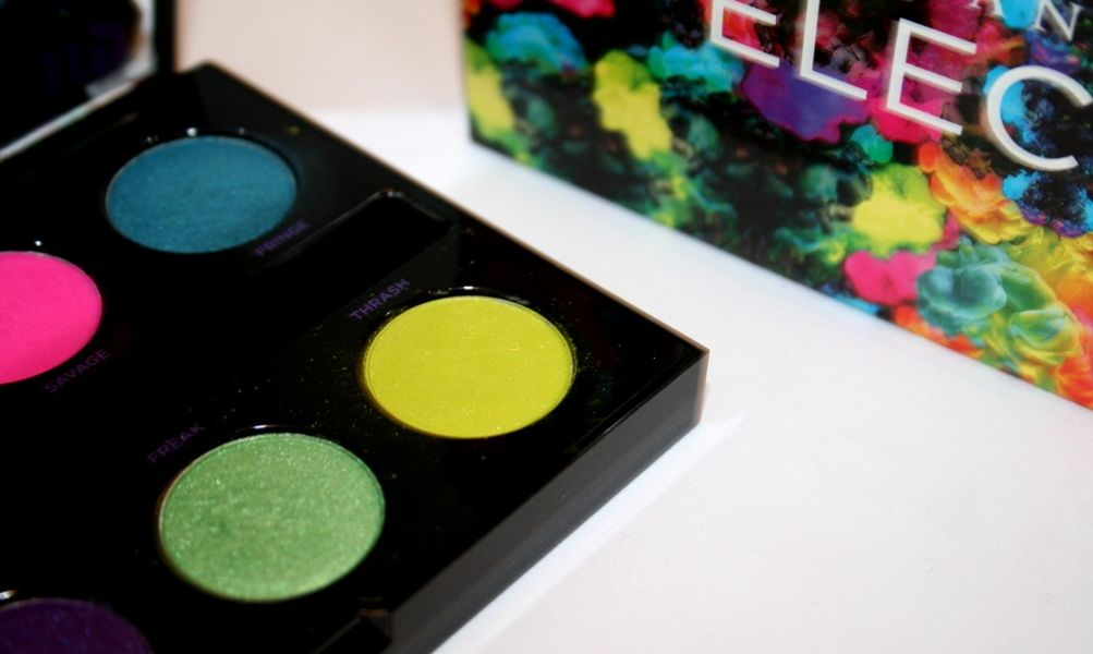 Swatch Electric Pressed Pigment Palette, Urban Decay