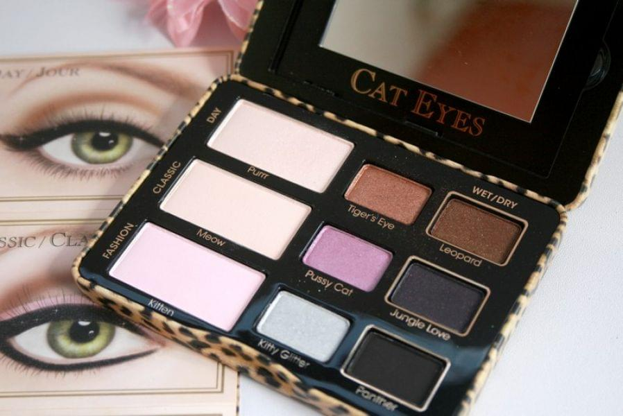Swatch Cat Eyes Palette de Fards à paupières, Too Faced