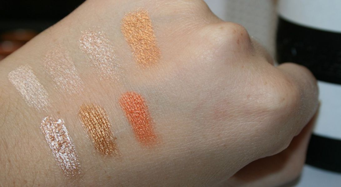 Swatch Palette 35OS 35 Color Shimmer Nature Glow, Morphe