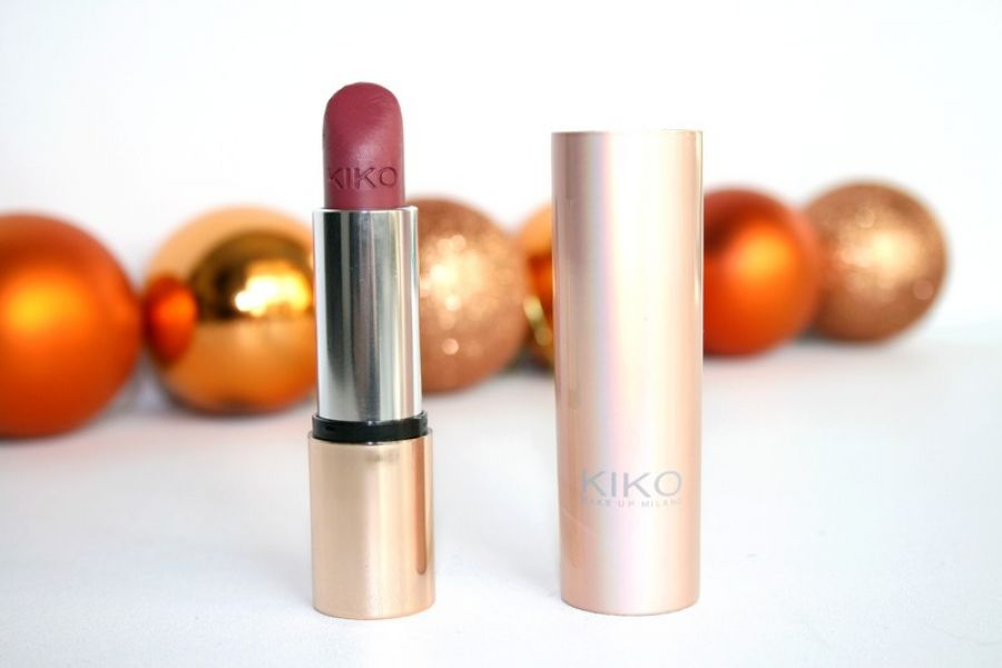 Swatch Velvet Mat Satin Lipstick, Kiko