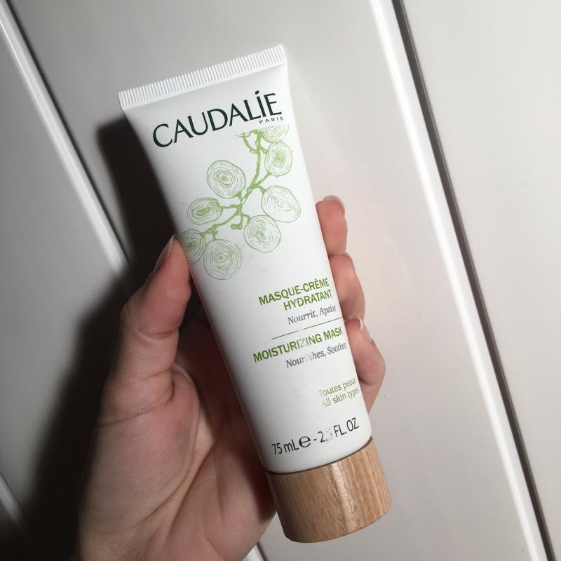 Swatch Masque crème hydratante, Caudalie