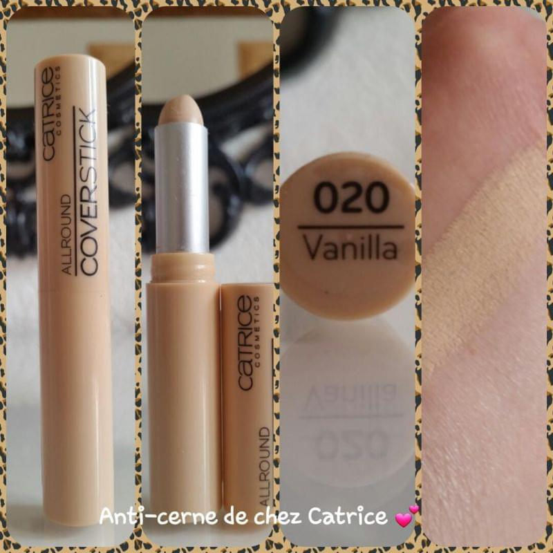Swatch AllRound Coverstick, Catrice