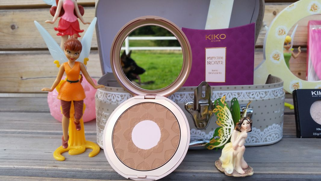 Swatch Perfecting Bronzer, Kiko