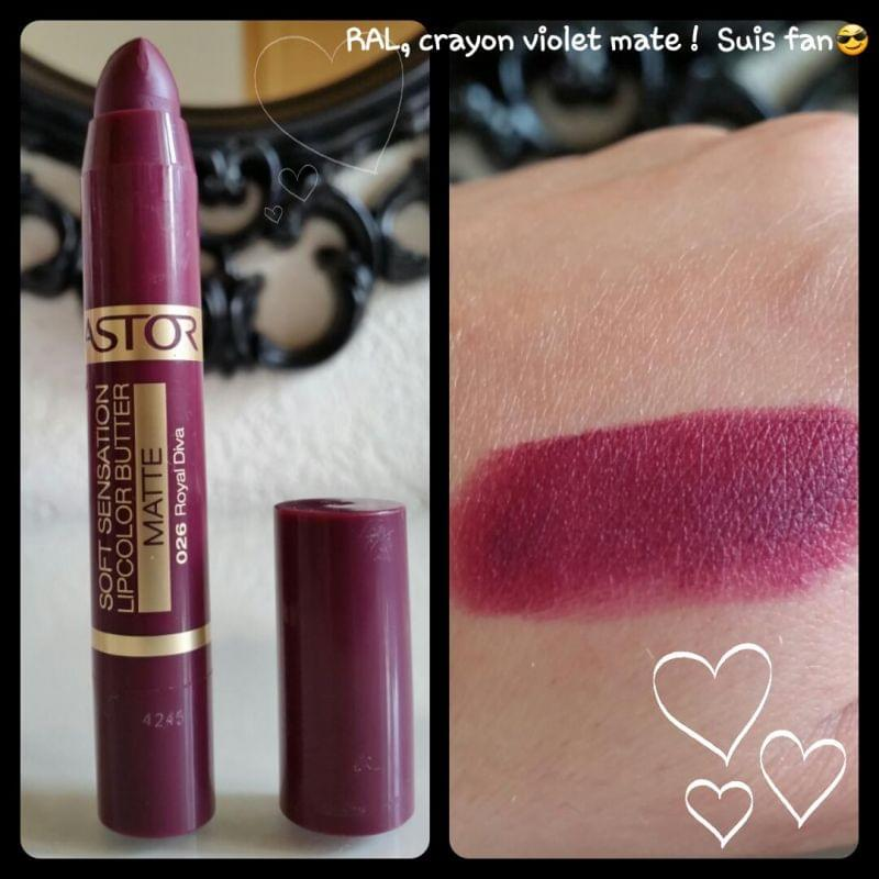 Swatch Lip Color Butter, Astor