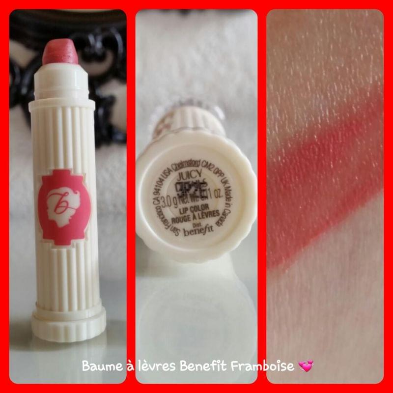 Swatch L'Hydra-Smooth Color, Benefit Cosmetics