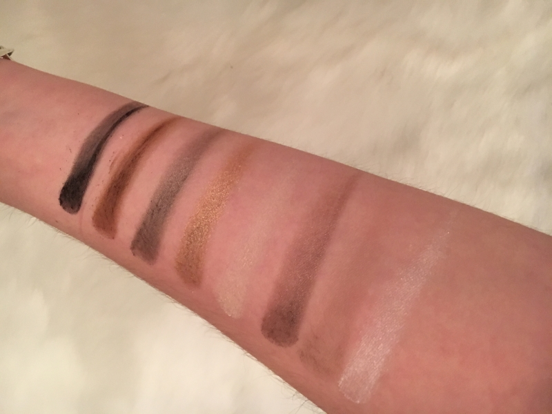 Swatch Winter magic palette, Sephora