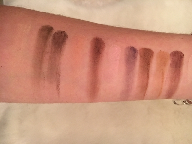 Swatch Matte chocolate chip, Too Faced