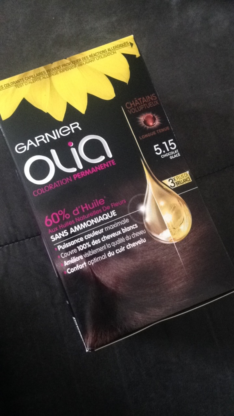 Swatch Olia Coloration Permanente, Garnier