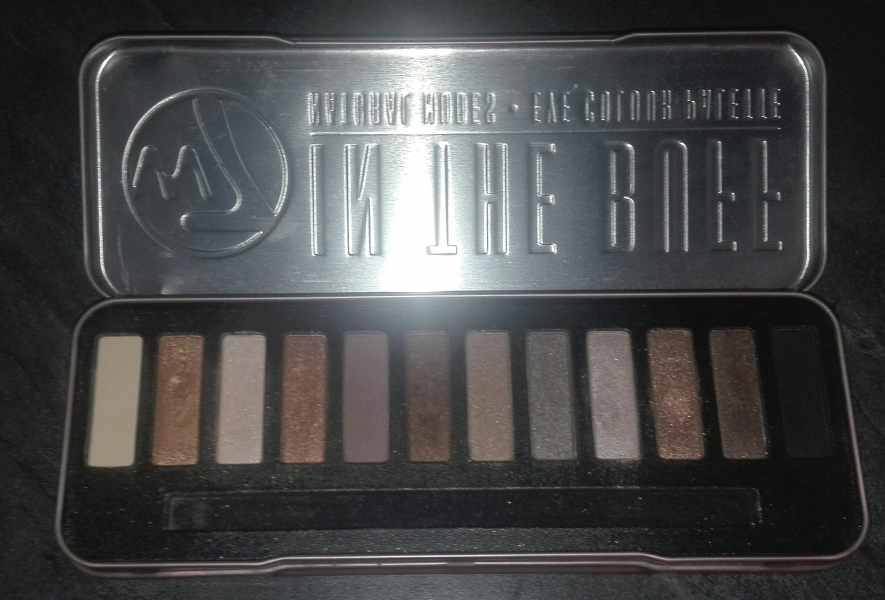 Swatch Palette In The Buff, W7 Cosmetics