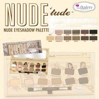 Palette Nude'tude, theBalm : Mymoush aime !