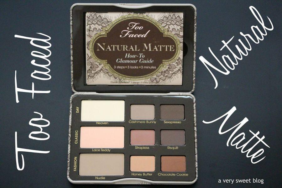 Swatch Natural Eyes Collection - Palette de fards à paupières, Too Faced