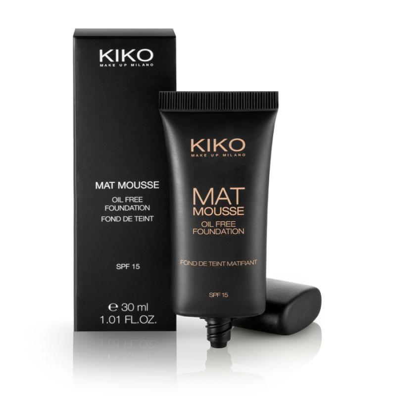 Mat Mousse Foundation - Fond de teint mousse matifiant, Kiko - Infos et avis